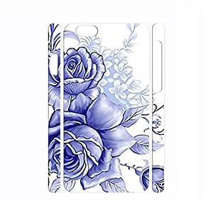 Funny Chinese Style Handmade White and Blue Porcelain Pattern Phone Cover Skin for Iphone 6 Plus Case - 5.5 Inch