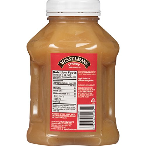 Musselman's Chunky Apple Sauce, 48 Ounce (Pack of 8) by Musselmans (Image #1)