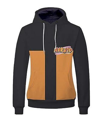 Cosstars Naruto Anime Sudaderas con Capucha Cosplay Disfraz 3D Impreso Pullover Hoodie Sweatshirt Outwear Abrigo Suéter: Amazon.es: Ropa y accesorios