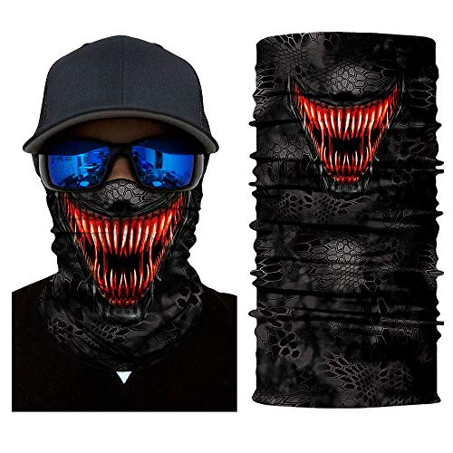 Lower Half Face Mask Motorcycle Face Shield Sun
