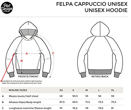 PacDesign PacDesign con TV NM0054A Serie Donna Felpa Cappuccio Funny Nemimakeit Black Day INDIPENDENCE Geek Series TV rgFHqrZW