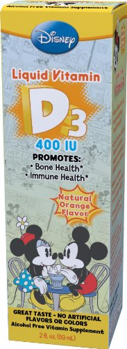 Disney vitamine D3 liquide, 2 once