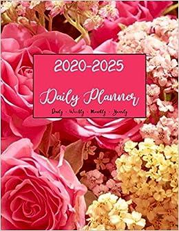 2020 -2025 Planner: Six Years Calendar Planners Notebook ...
