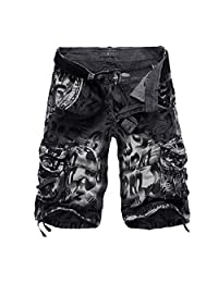Winwinus Men's Sports with Pockets with Mesh Lining for Surfing Swim Trunk
