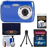 Vivitar ViviCam S126 Digital Camera (Blue) with 8GB Card + Case + Mini Tripod + Kit