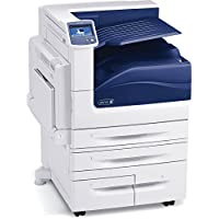 Refurbished Xerox Phaser 7800DX Tabloid-size Color LED Printer - 45 ppm, Up to 2400dpi, Auto Duplex, 3,140 Sheets, 4.3 Touchscreen, 250-sheet Catch Tray Finisher, Built-in Networking