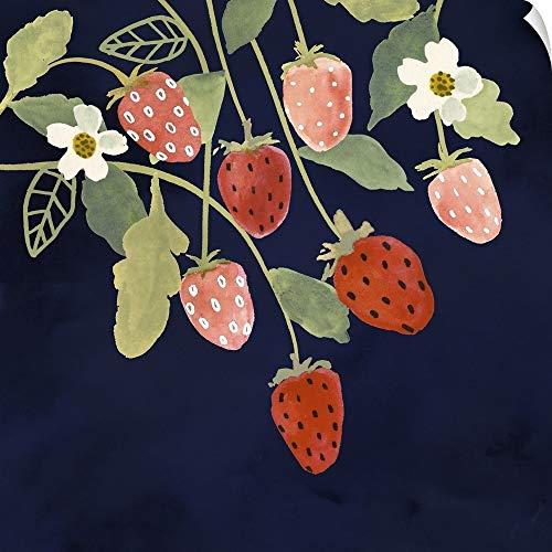 CANVAS ON DEMAND Fresh Fruit I Wall Peel Art Print, 24