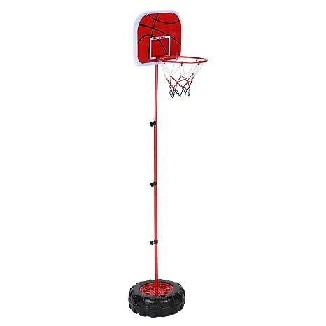 Alomejor 1.52M Aro de Baloncesto para niños Soporte de Altura ...