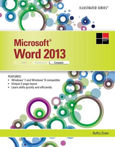 Microsoft Word 2013: Illustrated Complete Pdf