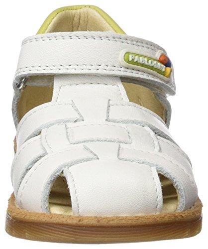 Pablosky Jungen 006206 Sandalen Weiß