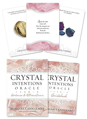 Crystal Intentions Oracle: Guidance and Affirmations Cards – 1 Dec. 2016
