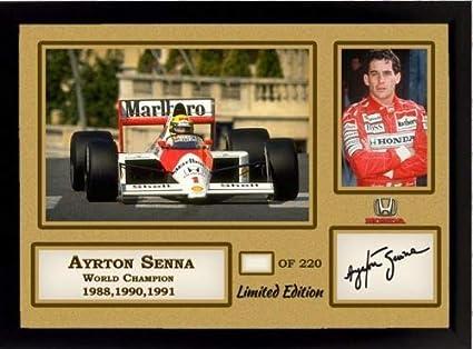 ++FORMEL 1 Weltmeister++ Ayrton Senna +Autogramm+