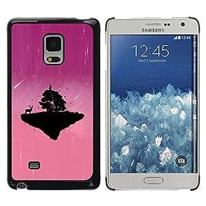 Be Good Phone Accessory // Dura Cáscara cubierta Protectora Caso Carcasa Funda de Protección para Samsung Galaxy Mega 5.8 9150 9152 // Pink Cute Planet