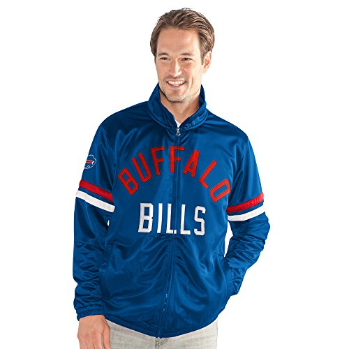 G-III Sports by Carl Banks Adult Men Veteran Track Jacket, Royal, XX-Large