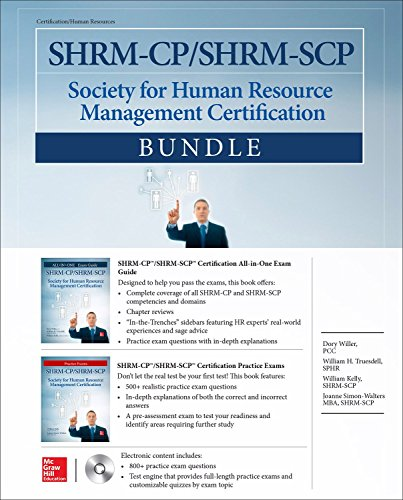 SHRM-CP/SHRM-SCP Certification Bundle (All-In-One)