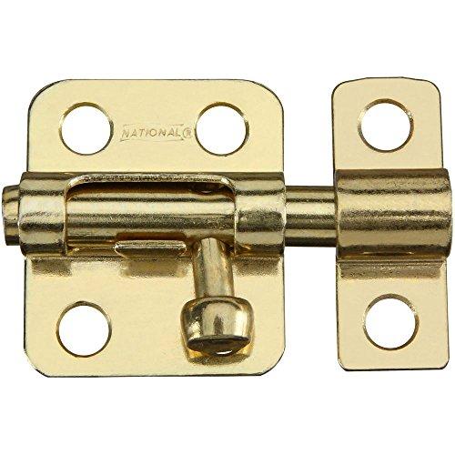 National Hardware N151-266 V833 Window Bolt in Brass