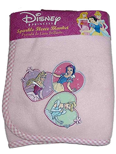 - Disney Princess Sparkle Fleece Blanket