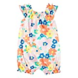 Carter's Baby Girls' Butterfly Snap Up Romper 24