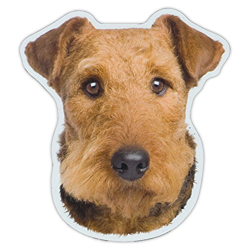 - Magnetic Bumper Sticker - Airedale Terrier Dog Breed Picture Magnet - Cars, Trucks, SUVs, Refrigerators - 4.5