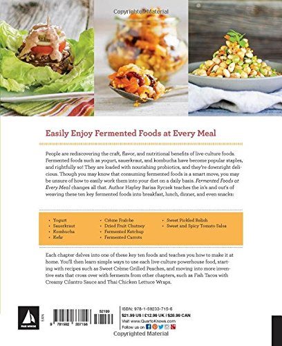 Fermented Foods at Every Meal: Nourish Your Family at Every Meal with Quick and Easy Recipes Using the Top 10 Live… 2 FAIR WINDS PRESS