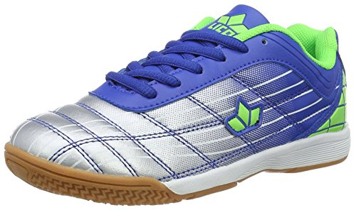 Lico Rockfield - Zapatillas Niños Azul (Blau/silber/lemon)