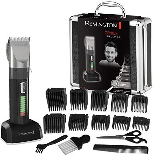 Remington HC5810 Genius – Máquina de Cortar Pelo, Cuchillas de Cerámica, Recargable, 10 Peines, Prestaciones…