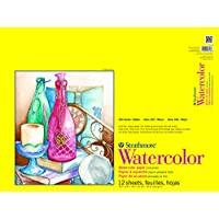 "Strathmore 300 Series Watercolor Pad, Cold Press, 18""x24"", 12 Sheets"