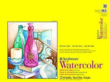 Strathmore 360-11 300 Series Watercolor Pad, Cold Press, 11