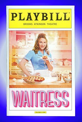 Waitress, Broadway Playbill + Jessie Mueller, Drew Gehling, Kimiko Glenn, Keala Settle