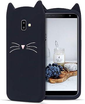 CaseLover ES Funda para Samsung J6 Plus 2018, 3D Linda Gato Carcasa Suave TPU Silicona Protectora Caso Flexible Goma Gel Dibujos Animados Parachoques Tapa para Samsung Galaxy J6 Plus 2018: Amazon.es: Electrónica