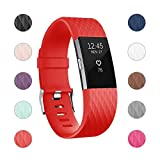 For Fitbit Charge 2 Bands, Adjustable Replacement Bands...