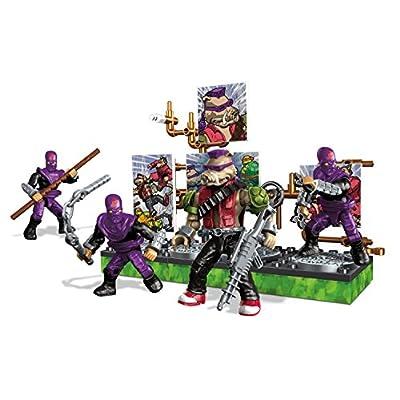 Mega Construx Teenage Mutant Ninja Turtles Collectors Bebop Villain Pack: Toys & Games