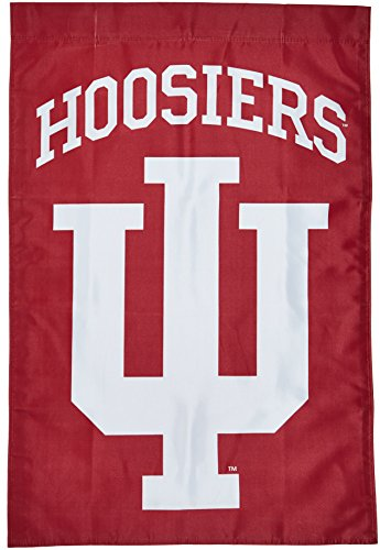 NCAA Indiana Hoosiers 2-Sided 28-by-40 inch House Banner with Pole Sleeve (Halloween In Indiana)