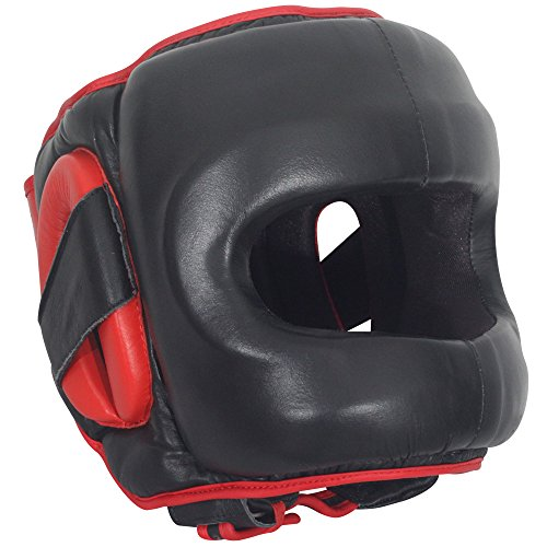 Saver Boxing Headgear, Black, Large/X-Large (Shin Saver)
