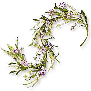 National Tree Company 60 in. Flower Garland 88