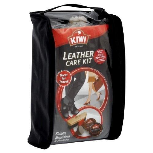 Kiwi Leather Care Travel Kit, Pack of 12