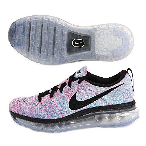Nike Flyknit Air Max Womens Maraton Joggesko (620659-104) Størrelse: 10 Rosa