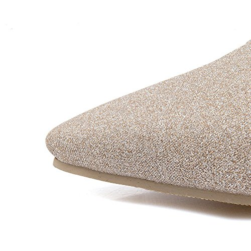 Balamasa Damene T Spenne Fast Romansk Stil Blanding Materialer Sandaler Gull