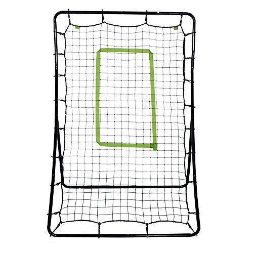 MallMall Teenager Childrens Baseball Training for Throwing, Pitching, Fielding Train Net Rack Rebound Net by MallMall