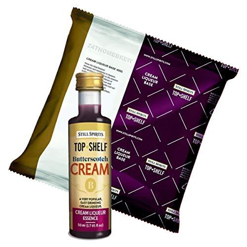 Still Spirits Top Shelf Butterscotch Cream With Liqueur Base Mix makes - Base Butterscotch