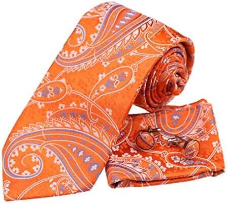 YA-BC-B.03 Various Paisley Jacquard Silk Ties For Husband By Y&G