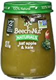 Beech-Nut Stage 2 Baby Food, Just Apple/Kale, 4.0 Ounce (Pack of 10)