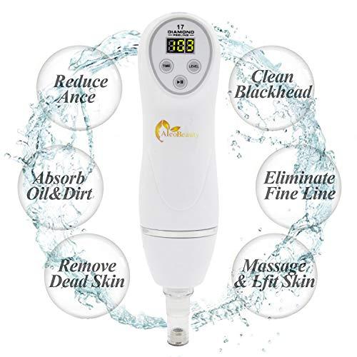 Portable Diamond Peeling Facial Pore Cleanser Diamond Microdermabrasion Pen Vacuum Blackhead Removal Machine