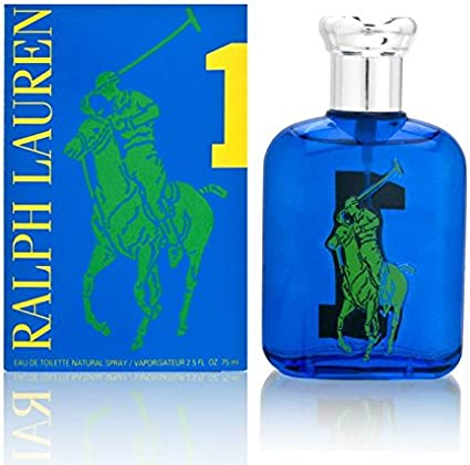 Ralph Lauren Big Pony 1 Eau de Toilette Vaporizador (Blue) 75 ml ...