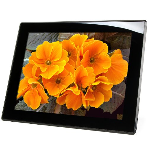 Micca M1503Z 15-Inch 1024x768 High Resolution Digital Photo Frame With 8GB Storage Media, Auto On/Off Timer, MP3 and Video Player (Black) (Digital Picture Frame 15 Inch compare prices)