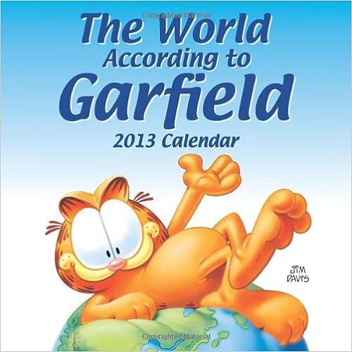 Garfield 2013 Mini Wall Calendar