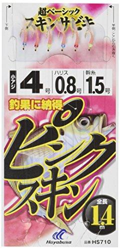 ハヤブサ(HAYABUSA) HS710 これ一番 ピンクスキンサビキ 6本鈎の商品画像