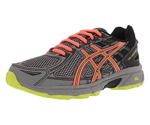 ASICS Women's Gel-Venture 6 Running-Shoes,Phantom/Coral/Lime,10 D US