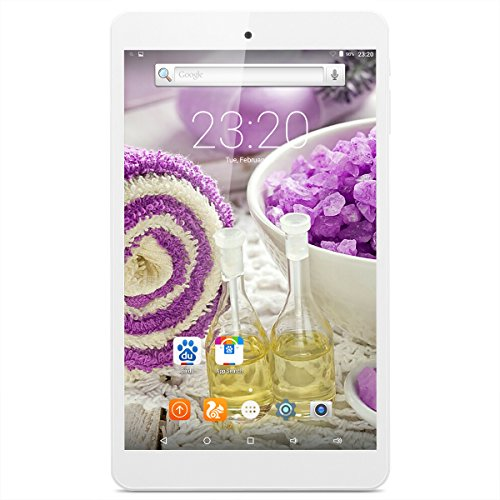 8″ Teclast P80H Android 5.1 Tablet PC, 1280×800 IPS Screen MTK8163 Quad Core 1.3GHz 1GB RAM + 8GB ROM Tablet with Dual Camera (2.0MP/0.3MP) GPS Wifi Bluetooth OTG HDMI Phablet – White
