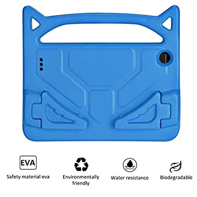 All-New Fire HD 8 2017/Fire HD 8 2016 Cases - SHREBORN Light Weight Shock Proof Handle Friendly Convertible Stand Kids Case for Amazon Fire HD 8 Tablet from SHREBORN